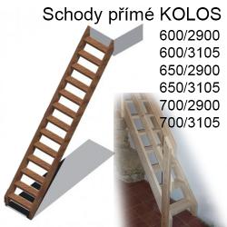 Dřevěné Schody Přímé